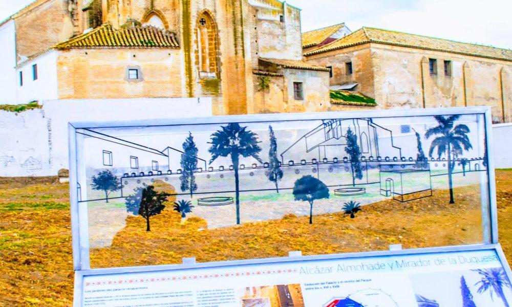 Resultado de imagen de jardines del palacio ducal marchena